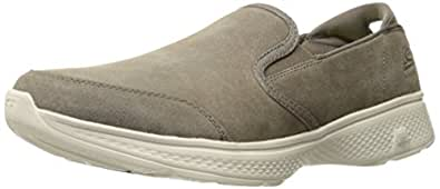 Skechers Performance Men's Go 4-54173 Walking Shoe,Charcoal,12.5 M US