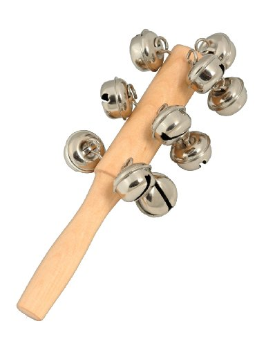 ab Kids 13 Bells Shaker Wooden Stick ab Kids-516