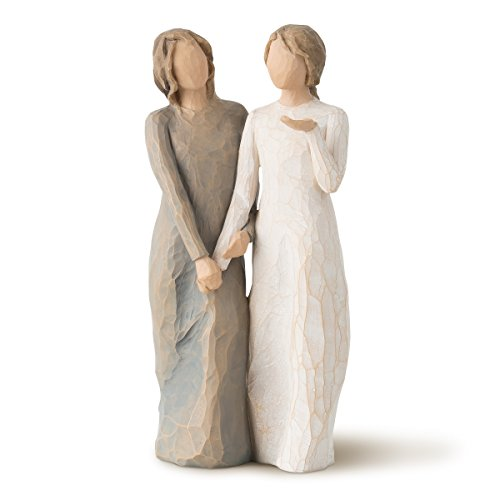 Willow Tree My Sister My Friend (Figure Plaque)