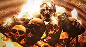 Amazon.com : Replica Human Fire Pit Skull Gas Log for Wood