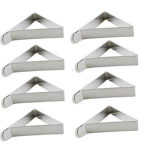 Table Cloth Clips, Popmall 30 Packs Tablecloth Clips Stainless Steel Outdoor Picnic Table Skirt Cloth Holder Clamps by Popmall