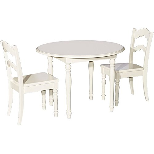 Powell Furniture 16Y1004 Youth Table and 2 Chairs Dining (Set Dining Table Powell)
