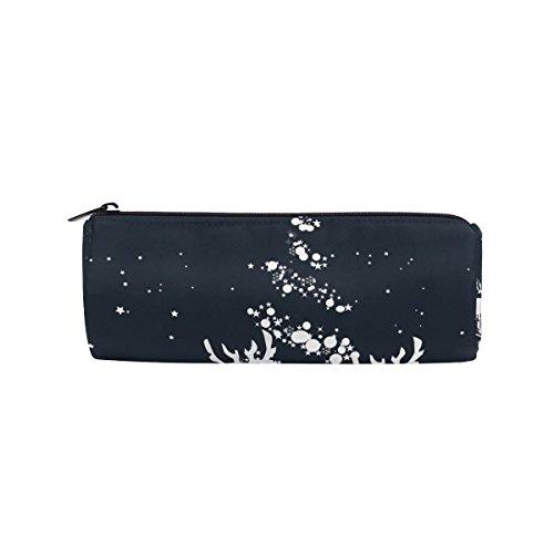 Weihnachten Deer Federmäppchen Pen Tasche Multifunktions Stationery Tasche Tasche mit Reißverschluss von imobaby, Student Reißverschluss Bleistift Inhaber Tasche Geschenk Travel Make-up Tasche, M109