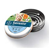 Seresto flea and tick collar for cats, 8 month flea and tick prevention