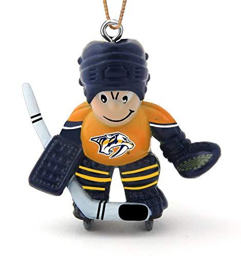 Final Touch Gifts Nashville Predators Hockey Player Christmas Ornament (Nashville Predators Best Player)