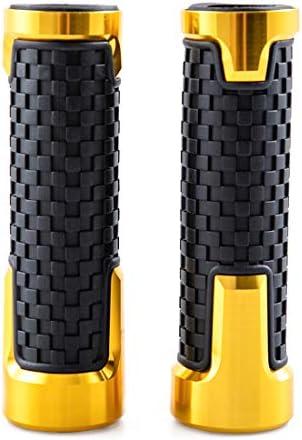 Black Aikrituire 7//8 22mm Universal Motorcycle Handlebar Grips Handle Bar Anti-Slip Rubber