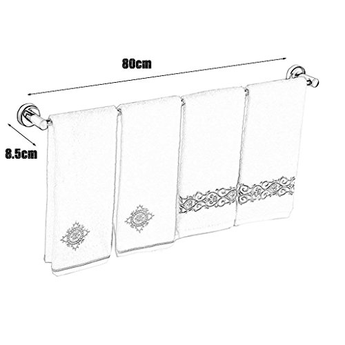 best EQEQ Bouquets Assembly in Stainless Steel Platform for The Space Bathroom 48 cm.