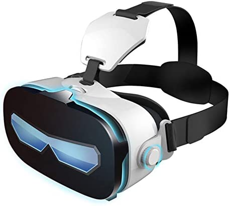VR Glasses 3D Virtual Reality Headset VR Goggles Soft and Comfortable Mobile Phone Eyes,for Iphone X 8 7 6/6S Plus, Samsung S6 S7 S8/Plus/Edge Note 8 [2019 Edition]