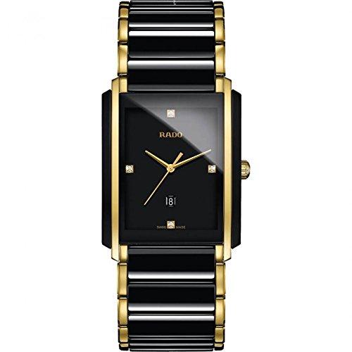 Rado R20204712 - Reloj de pulsera para hombre con esfera de diamante negra