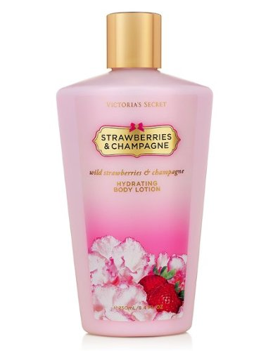 Victoria'S Secret Strawberries And Champagne Hydrating Body Lotion 250Ml/8.4 Fl Oz ()
