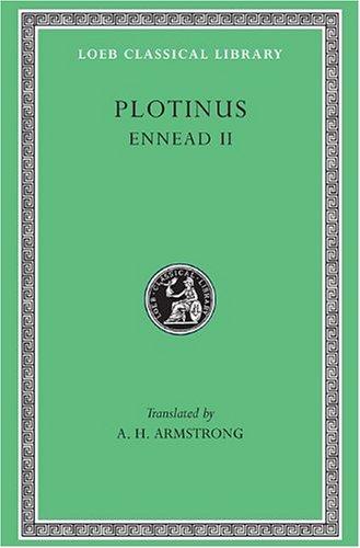 Plotinus-II-Ennead-II-1-9-Loeb-Classical-Library-No-441-Greek-and-English-Edition