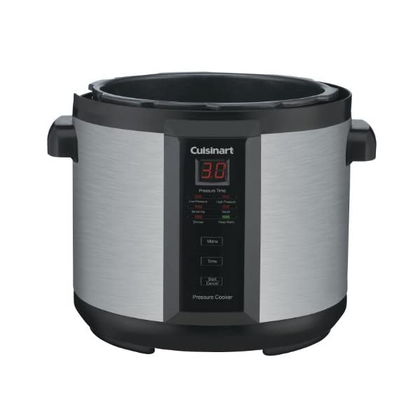 Cuisinart CPC-600AMZ 1000-Watt 6-Quart Electric Pressure Cooker, Brushed Stainless and Matte Black 3