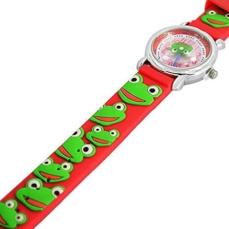 Amazon.com: Fashion Brand Quartz Wrist Watch Baby Children Girls Boys Watch Frog Design Waterproof Watches: Watches