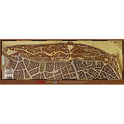 Dungeons & Dragons Waterdeep Dragon Heist Vinyl Map Set: Toys & Games