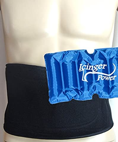 Icinger Power Cooling abdominal belt to burn fat with cold - Turbo Twister Slide
