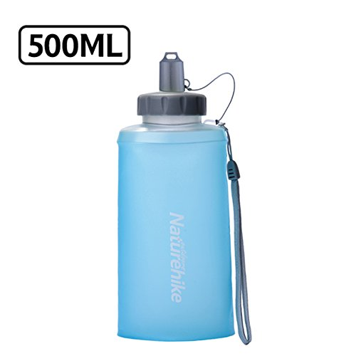 TRIWONDER BPA-Free Leak-Proof Running Water Bottles – Pack of 2, for Hydration Belt or Vest – Ideal for Running Hiking Cycling (500ml/16.9oz (TPU) – Blue) Review