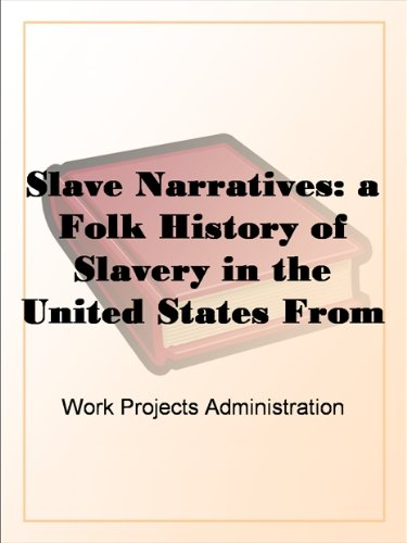 Search : Slave Narratives: a Folk History of Slavery in the United States From Interviews with Former Slaves Texas Narratives, Part 1