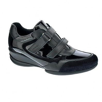 Geox PERSEFONE A Noir - Chaussures Baskets basses Femme