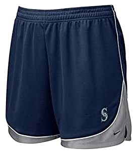 Womens Mesh Seattle Mariners Shorts - X-Large