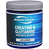 Cheap BodyTech Creatine Glutamine 5GM with Beta Alanine Unflavored Supports Muscle Growth, Recovery Immune Health (10.8 Ounce Powder)