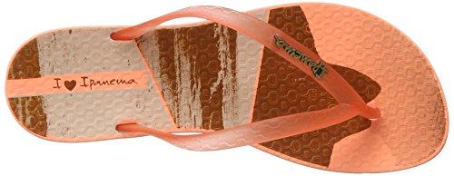 Ipanema Wave Tropical Fem, Chanclas para Mujer Mehrfarbig (orange)