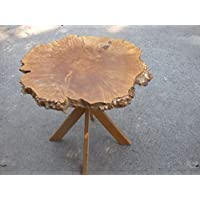 Maple Burl End/coffee table
