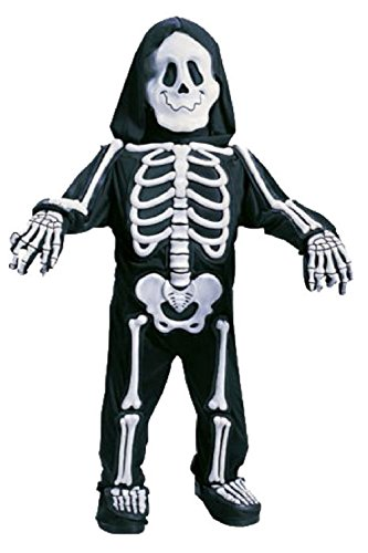 Plus Size Skeleton Zombie Costumes (Totally Skelebones Skeleton Toddler Halloween Costume)