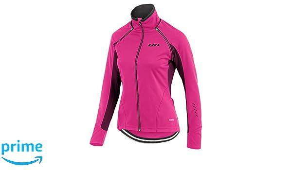 Amazon.com   Louis Garneau Spire Convertible Jacket - Women s Pink Glow 50ad22f52
