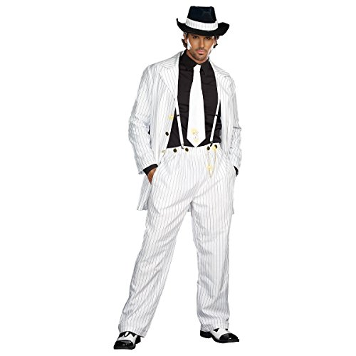 Jazz Era Costumes - Zoot Suit Riot Adult Costume - X-Large