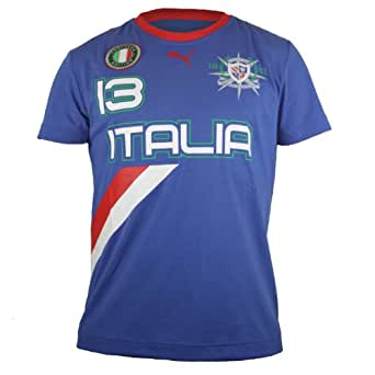 Puma Heritage Yachting Italy Tee - Team Power Blue-Italy (Mens) - XX-Large