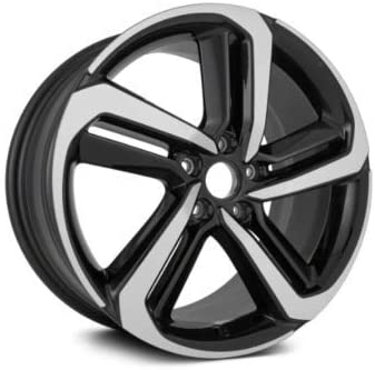 Partsynergy Replacement For OEM Take-Off New Aluminum Alloy Wheel Rim 19 Inch Fits 2018 Honda Accord 5-114.3mm