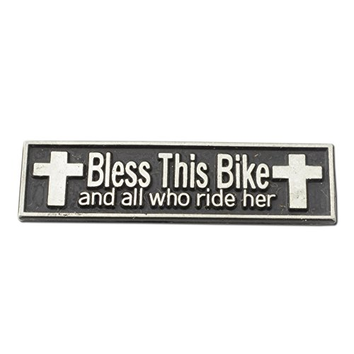 Pin Bike Brooch (Bless This Bike Lapel Pin (Qty: 50))