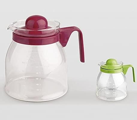 Lifestyle - Jarra vidrio microondas: Amazon.es: Hogar