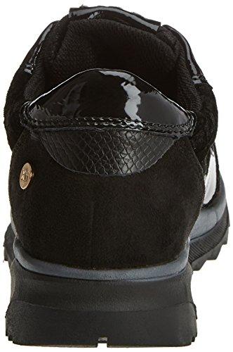 047413 Femme Bleu Marine Black Noir Baskets black Xti SHfnqRwR