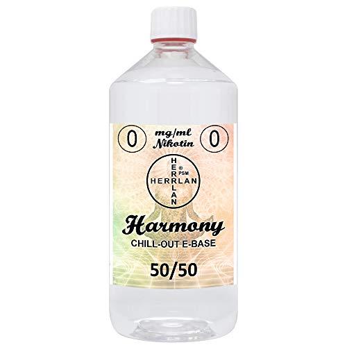 E-Base Harmony – 50/50 I 1000 ml I Ohne Nikotin I Herrlan – Made in Germany