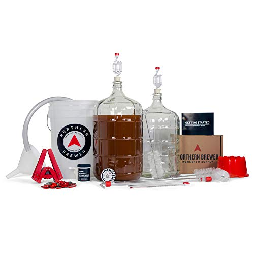Northern Brewer Deluxe Home Brewing Equipment Starter Kit - Fresh Squished IPA Beer Recipe Kit - Glass Carboys Fermenter with Equipment For Making 5 Gallons Of Homemade Beer by Northern Brewer (Image #6)