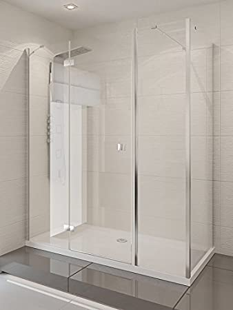 Modena Plus Mampara rectangular cabinas – Único Puerta R + L [tamaño: 120 cm x 70 cm x 190 cm Izquierda]: Amazon.es: Bricolaje y herramientas