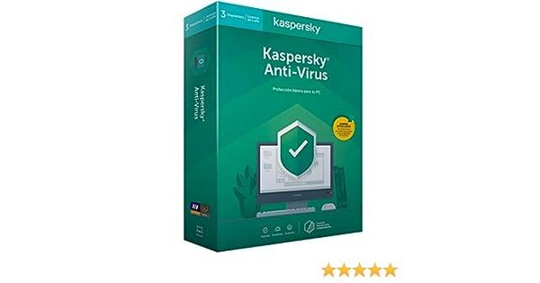 Kaspersky Kav 2020 - Antivirus, 3 Licencias, 1 Año: Kaspersky: Amazon.es: Informática