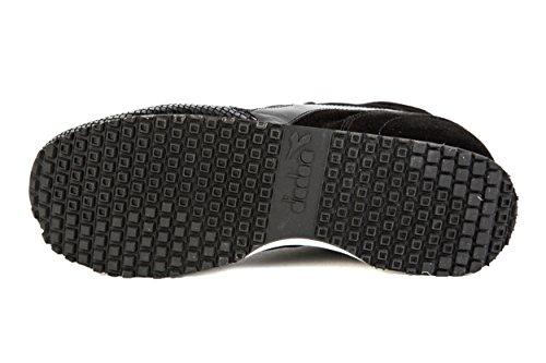 Diadora Black Schwarz Womens Heritage Low W Trident Sneaker 0a8Yr0W
