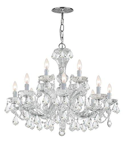 Maria Theresa 12 Light Clear Crystal - Light Maria Theresa Twelve