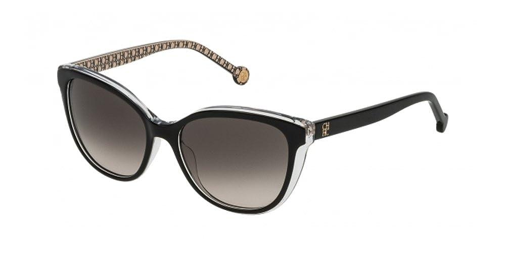 Carolina Herrera SHE694 BLACK INT. BEIGE (0Z32) - Gafas de ...