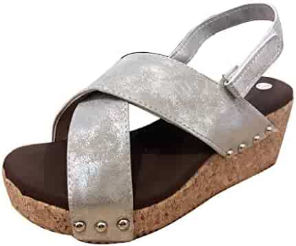 261c43b1dfe43 Shopping 7.5 - Hook & Loop - Grey - Sandals - Shoes - Women ...