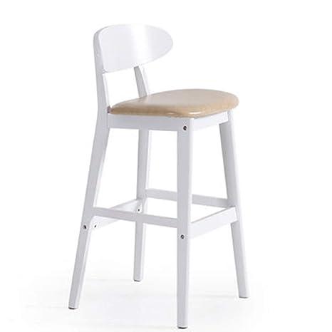 Amazon.com: CLQ FurnitureHome Taburete de cocina con cojín ...