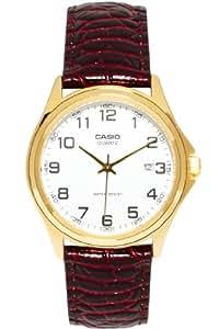 Casio MTP-1188Q-7BEF - Reloj analógico de cuarzo para hombre con correa de piel, color marrón