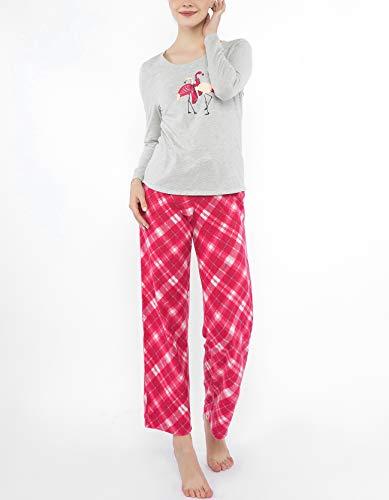 Jammies by Hip Style Women Pajamas Set, Long Sleeve Tee Loun