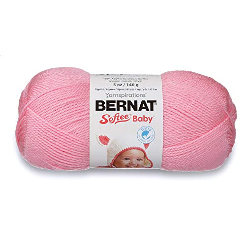 - Spinrite Bernat Softee Baby Yarn: Solids, Prettiest Pink