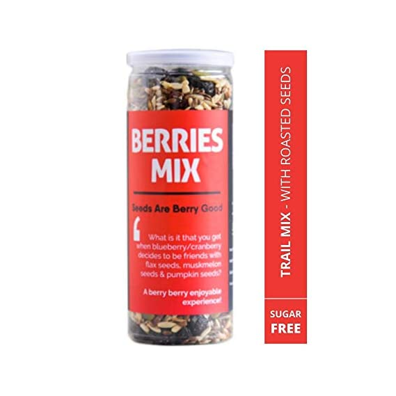 Omay Foods Berries Mix, 185 G
