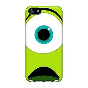 Scratch Protection Hard Phone Cover For Apple Iphone 5/5s (bIU8434imEf) Support Personal Customs Vivid Monsters University Mike Wazowski Series