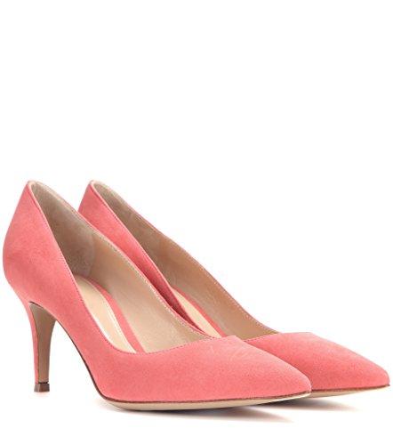 EDEFS Shoes Chaussures Soiree cm Escarpins Babypink Classique Pointu 6 Fermé Kitten Heel Bureau Bout Femme fAqZrw1f