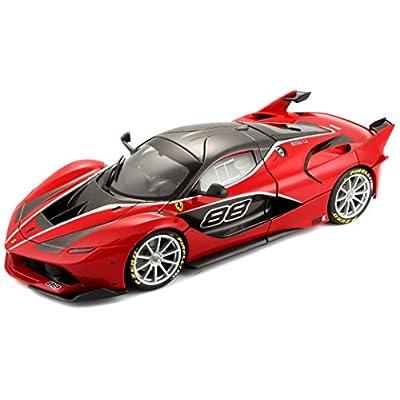 Bburago 18-16907RD Signature 1/18 Scale Diecast - 18-16907 Ferrari FXX K Supercar Red, Multicolor: Toys & Games